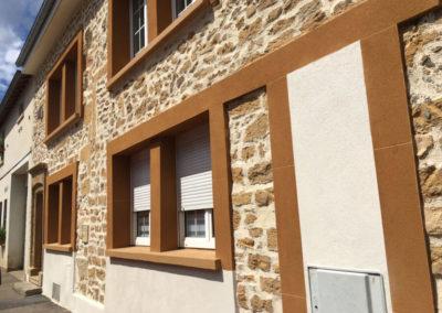 Ravalement façade pierres naturelles Châlons-en-Champagne