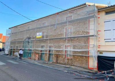 Rénovation d'une bâtisse pour un mairie